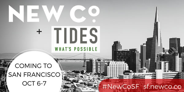 Join Tides at NewCoSF